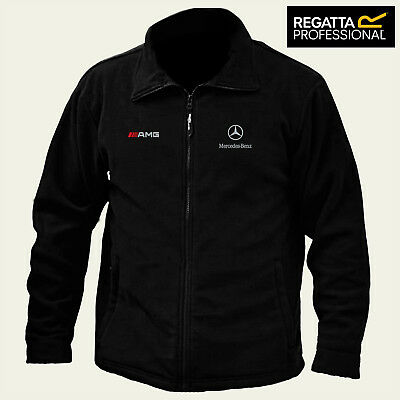 Mercedes Amg Full Zip Fleece Jacket Regatta Thor 300 With Embroidered Logo