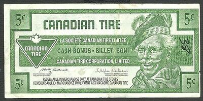 Canadian Tire  5 Cent - Canadian Tire Store Canada - 2009- Loook !!