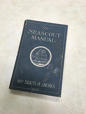 1930's Sea Scout Manual