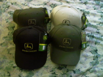 John Deere Tractor Hat Caps X4 New With Tags Brand New