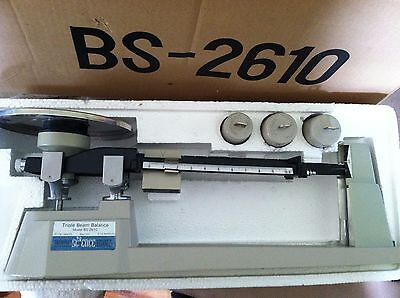 Triple Bean Balance BS-2610, Free Shipping, Original Packaging, Great Condition