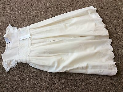 Next Baby Girls Signature Christening Gown 3-6 Months Bnwt