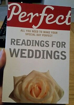 Perfect Readings for Weddings by Jonathan Law (Paperback, 2007)