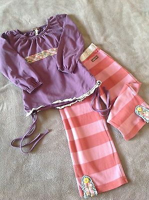matilda Jane top Ruffles straightees adorable set outfit size 4