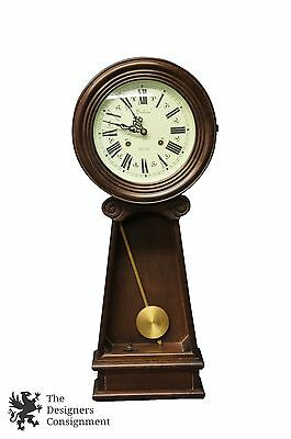 """Vintage Centurion 35 Day Working Traditional Mahogany Wall Hanging Clock 30"""""""