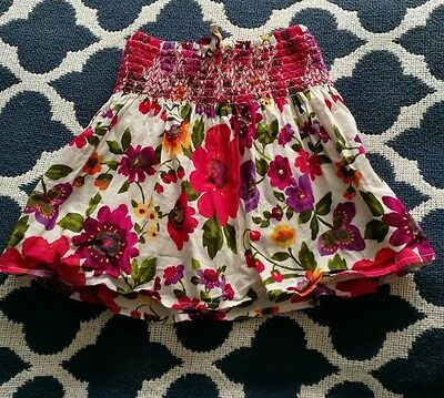 Baby gap floral skirt age 18-24 months