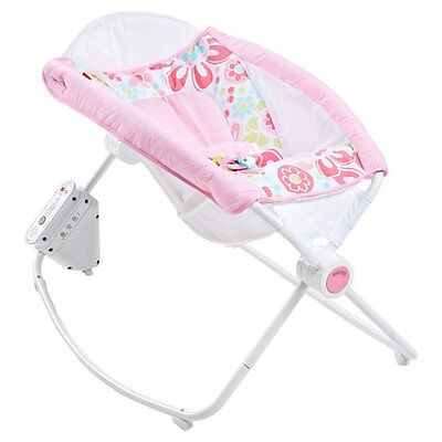 Fisher-Price Newborn Auto Rock n Play Sleeper - Floral Confetti