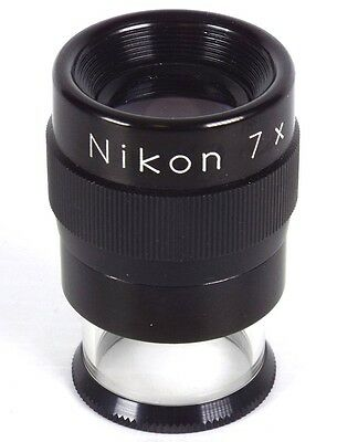 Nikon 7x Loupe for Large Format Ground Glass Focusing | E-0756