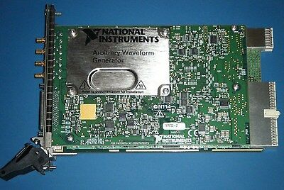 NI PXI-5441 16-bit AWG, OSP, 512MB (Max), National Instruments *Tested*