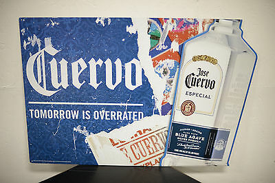 Blue Agave Jose Cuervo Tequila New Large Tin Sign Man Cave deez nuts