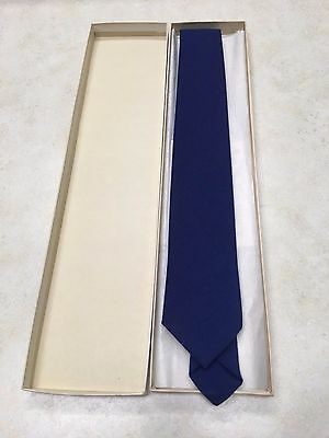 Vintage Official Boy Scout Necktie #817 Blue