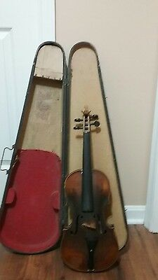 VINTAGE 1800. fiddle /ORIGINAL, G.S.B.CASE