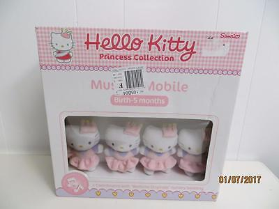 Hello Kitty Princess Collection Musical Mobile Sanrio Nib
