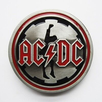 AC DC -  music rock band removable BELT BUCKLE