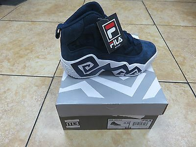 Fila Mb Mesh Kid's Shoes M3 Navy/wht/mgld *new Releases* Sizes 3.5Y To 7Y