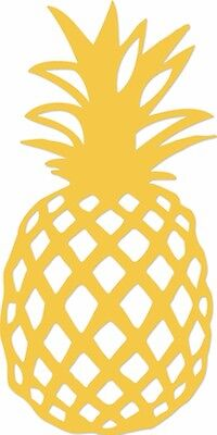 Kaisercraft - Decorative metal die - Pineapple - for use in most cutting systems