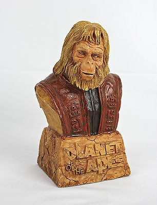 PLANET OF THE APES Dr. Zaius Bust by SOTA from '02 #196 - RARE POTA Collectible