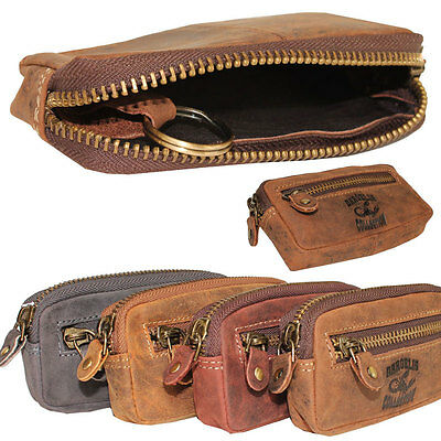 Vintage Leather Key Pouch Key Pouch Case Unisex 4 Colors