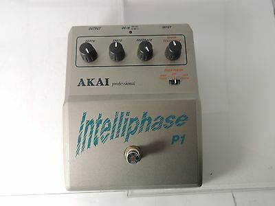 Akai Intelliphase Touch Phaser Effects Pedal Free Usa Shipping