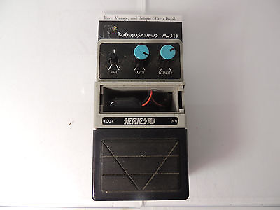 Rare Series 10 Analog Stereo Chorus Effects Pedal Vintage And Cool!!!