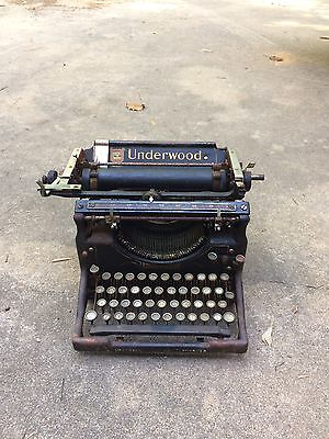 Vintage Rare 1900's UNDERWOOD No.5 Table Top Typewriter 1926