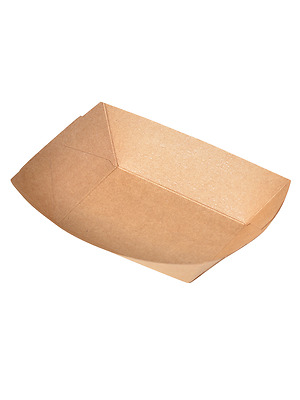 Disposable Kraft Paper Trays for Varieties of Food