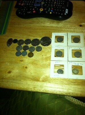 Coin collection 1901 mercury nickel 1945 Quarter and many others
