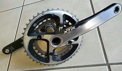 Xtr Crankset Shimano 2Speed Mountain Bike Use