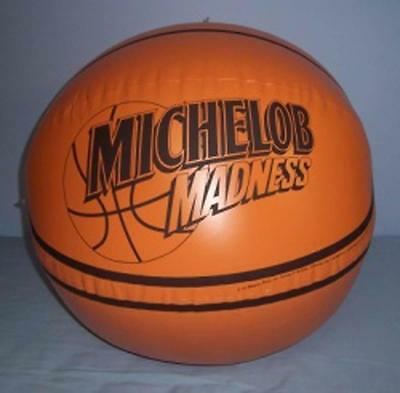 Michelob Madness Basketball Beer Bar Inflatable Blow Up  NEW NOS SEALED 37