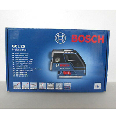 BOSCH GCL25 Professional Five-Point Self Leveling Alignment Laser Cross-Line