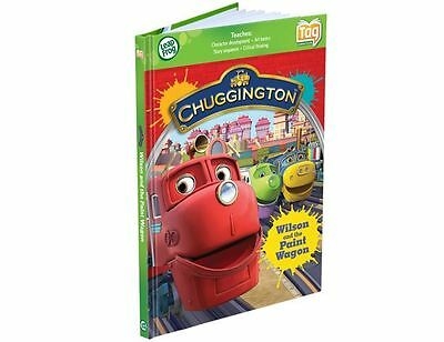 Leap Frog Tag Book - Chuggington; Wilson and the Paint Wagon