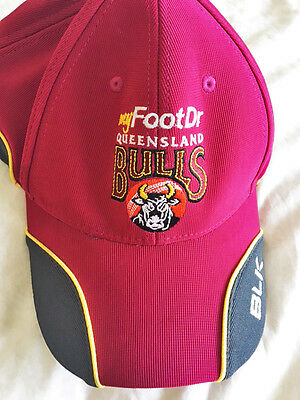 Genuine Qld Cricket Player Training Cap One Size New