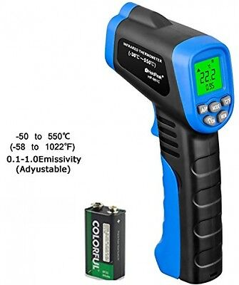 Holdpeak 981C Non-contact Digital Laser IR Infrared Thermometer, -50°C ~