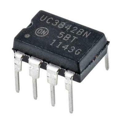 5 x ON Semiconductor UC3842BNG, PWM Current Mode Controller, 1A, 500 kHz 8-Pin