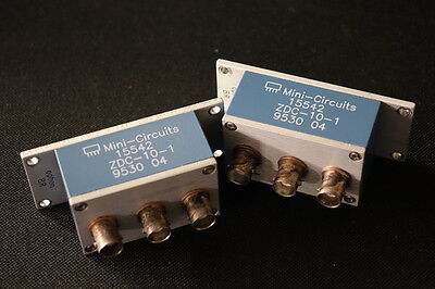 Mini Circuits ZDC-10-1 Directional Coupler 50 Ohm 0.5 - 500MHz - TESTED
