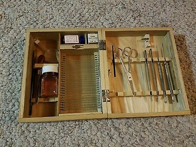 VINTAGE Slide and Dissecting Kit Perfect Model # 816-A