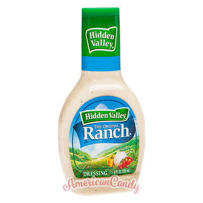 3x 473ml  Hidden Valley Ranch Dressing Salatsauce (16,89€/l)