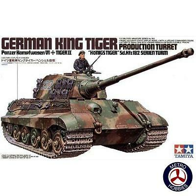 Tamiya 1/35 German King Tiger Tank T35164 Brand New