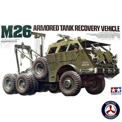 Tamiya 1/35 US M26 Armoured Tank Recovery Vehicle T35244 Brand New