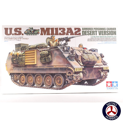 Tamiya 1/35 US M113A2 Armoured Personnel Carrier: Desert T35265 Brand New