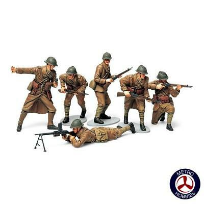 Tamiya 1/35 WWII French Infantry T35288 Brand New