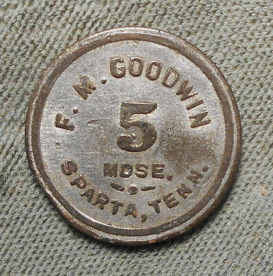 Sparta TN F.M. Goodwin 5 IT Ingle System 1914 Denomination Not Reported