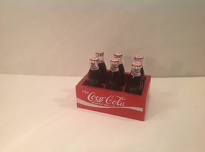 VINTAGE MINT COKE BOTTLE ADVERTISING LIGHTERS-  with matching wood crate!