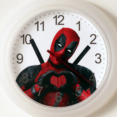 DEADPOOL Wall Clock NEW - 24cm Movie dead pool Christmas Gift