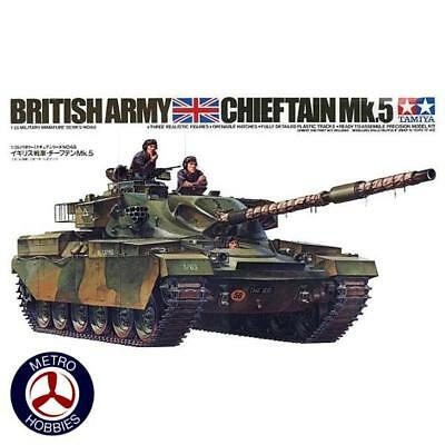 Tamiya 1/35 British Chieftain Mk5 Tank T35068 Brand New