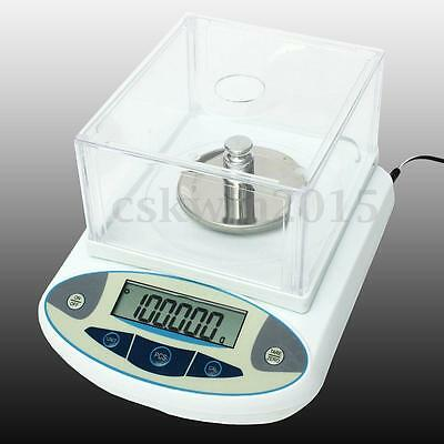 Digital 100 x 0.001g 1mg Balances Analytical Lab Electronic Scale High Precision