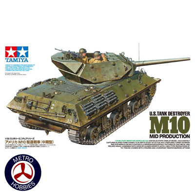 Tamiya 1/35 US M10 Tank Destroyer T35350 Brand New