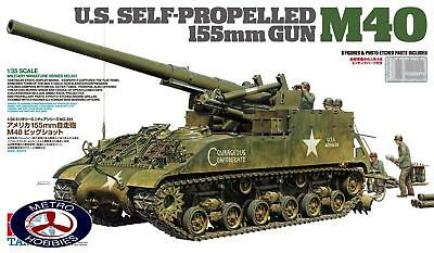 Tamiya 1/35 US Self-Propelled 155mm Gun M40 T35351 Brand New