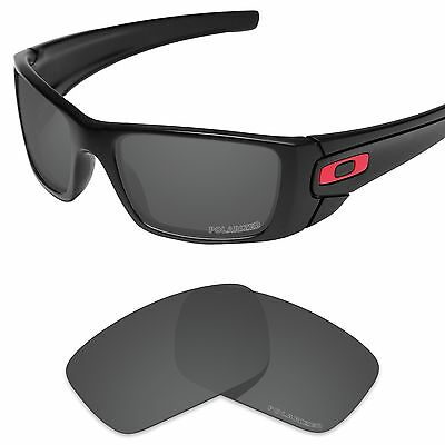 Tintart Polarized Replacement Lenses for-Oakley Fuel Cell Carbon Black (PFM)