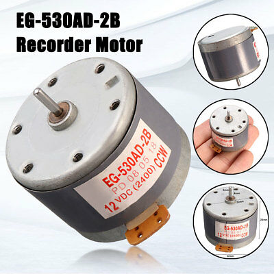 For MABUCHI EG-530AD-2B DC 12V CCW Recorder Audio Motor Tape Deck Capstan Motor